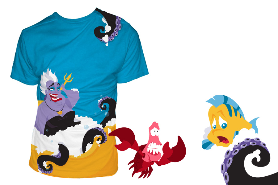 designs for threadless disney t-shirt