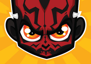 Star Wars illustraties - Darth Maul